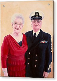 Nichols Portrait Acrylic Print
