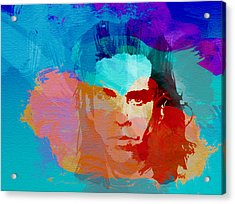 Nick Cave Acrylic Print by Naxart Studio
