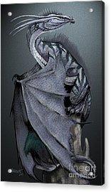 Nickel Dragon Acrylic Print