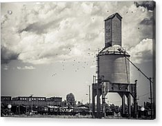 Nickel Plate Road  Acrylic Print by Off The Beaten Path Photography - Andrew Alexander