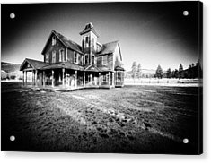 Nicolas Haunted House IIb Acrylic Print by Paul W Sharpe Aka Wizard of Wonders