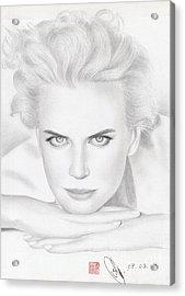 Nicole Kidman Acrylic Print