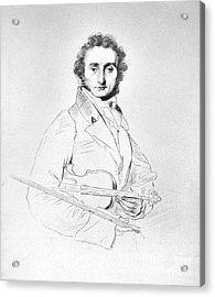 Nicolo Paganini (1782-1840) Acrylic Print