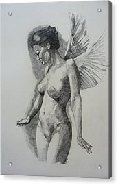 Night Angel Acrylic Print