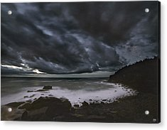Night At Boulder Beach Acrylic Print