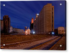 Night At Elevator Alley Acrylic Print by Don Nieman