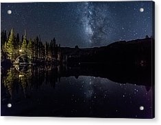 Night At Lake Mamie Acrylic Print