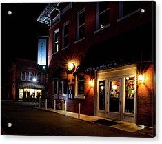 Night At The Everett Hotel Acrylic Print