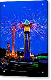 Night At The Fair Acrylic Print