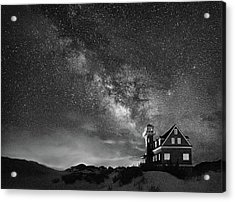 Night At The Station Acrylic Print
