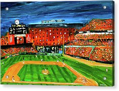 Night At The Yard Acrylic Print