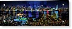 Night Beauty Acrylic Print