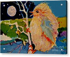 Night Bird Acrylic Print
