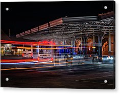 Night Bus Acrylic Print