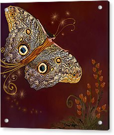 Night Butterfly  Acrylic Print