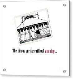 Night Circus Tee Acrylic Print