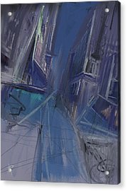 Night City Acrylic Print