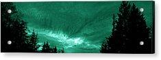 Night Clouds Acrylic Print