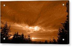 Night Clouds II Acrylic Print