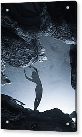 Night Dancer Acrylic Print by Cambion Art