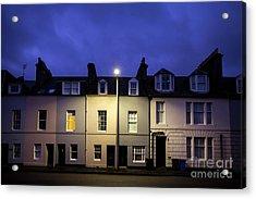 Night Darkens The Street Acrylic Print