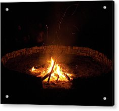 Night Done Right Acrylic Print by Charles Peck