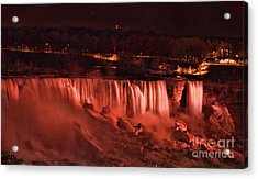 Acrylic Print featuring the photograph Night Falls by Traci Cottingham