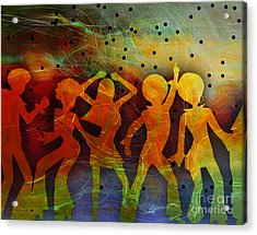 Night Fever Acrylic Print by Tammera Malicki-Wong