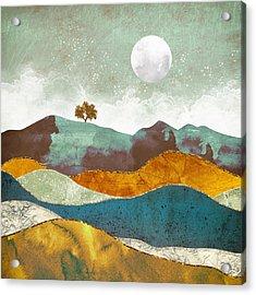 Night Fog Acrylic Print