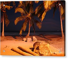 Night Forever Captured Acrylic Print by Chad Natti