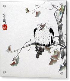 Night Hunter Acrylic Print by Ming Yeung