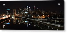 Night In Philly Acrylic Print