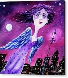 Night In The City Acrylic Print by Igor Postash