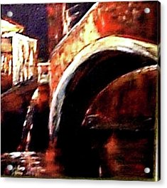 Night In Venice Acrylic Print