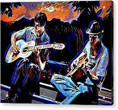 Night Jammin Acrylic Print