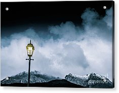 Night Landscape In Queenstown Tasmania Acrylic Print by Jorgo Photography - Wall Art Gallery