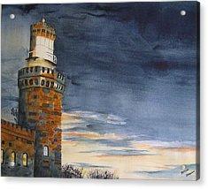 Night Light Acrylic Print by Brian Degnon
