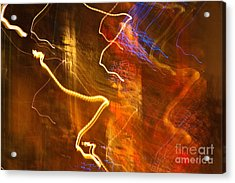 Night Lights 3 Acrylic Print by Layne Hardcastle