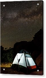 Night Lights Acrylic Print by James Marvin Phelps