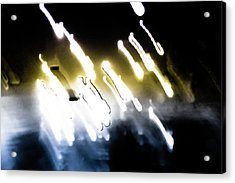 Night Lights  Acrylic Print