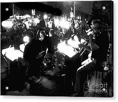 Night Music Acrylic Print by Felipe Adan Lerma