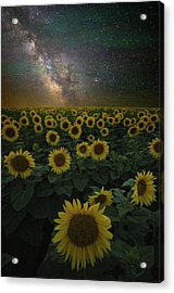 Acrylic Print featuring the photograph Night Of A Billion Suns by Aaron J Groen