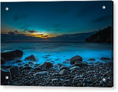 Night On Acadia Acrylic Print