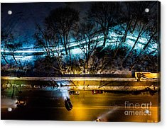 Acrylic Print featuring the photograph Central Park by M G Whittingham