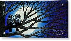 Night Perch Acrylic Print by Michael Frank