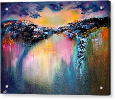 Night Reflections Acrylic Print