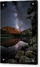 Night Reflections Acrylic Print by Melany Sarafis