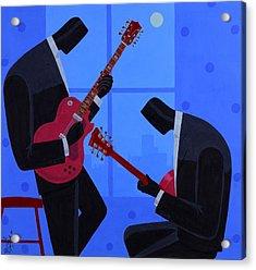 Night Rhythms Acrylic Print by Darryl Daniels