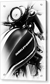 Night Rod Acrylic Print by Tim Gainey