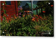 Night Shift For The Mice Acrylic Print